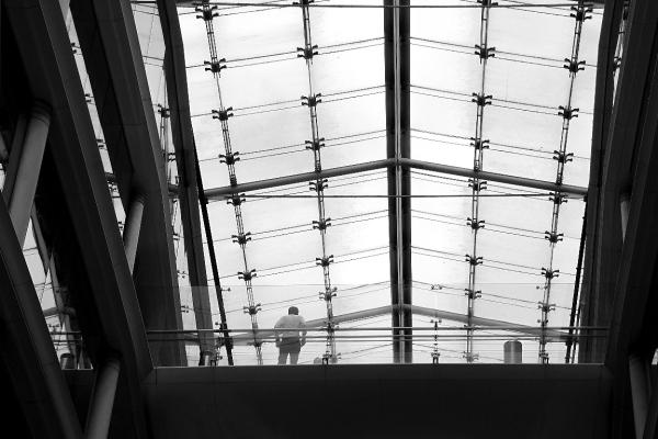 paris noir-blanc silhouette graphisme