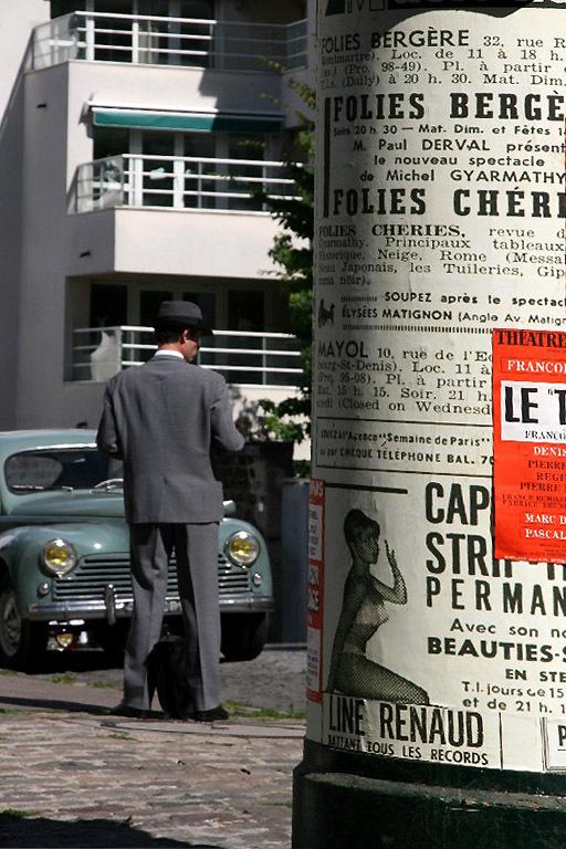paris rue tournage