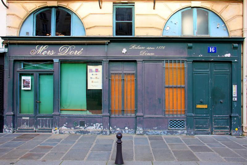 Paris devanture