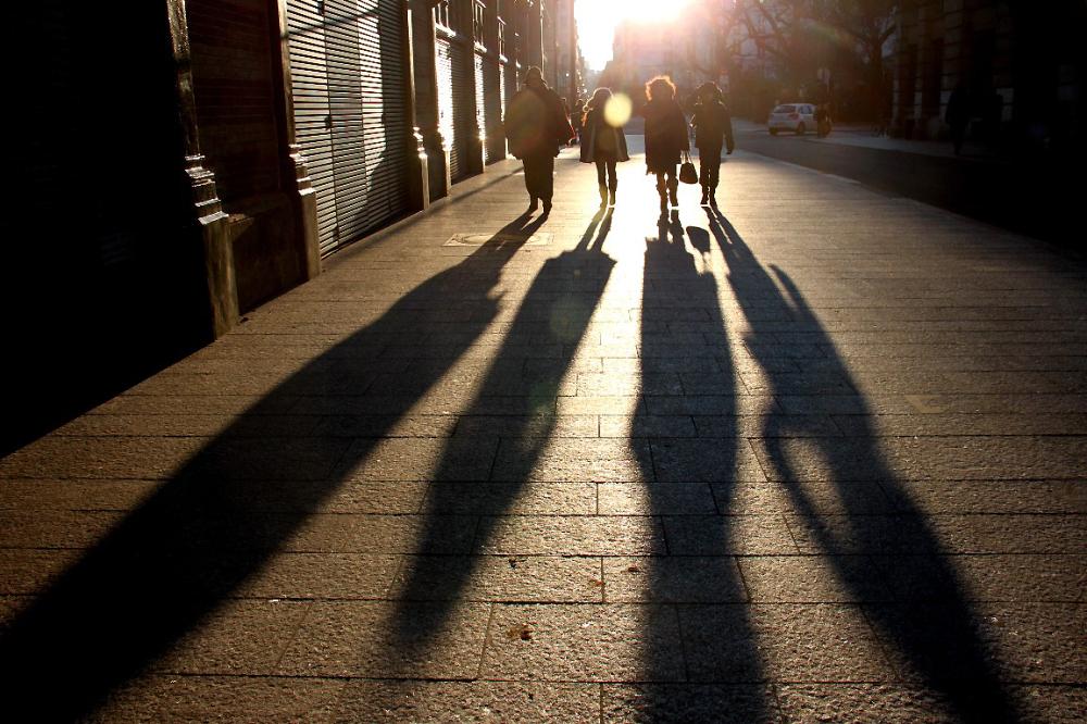 paris ombre silhouette contre-jour