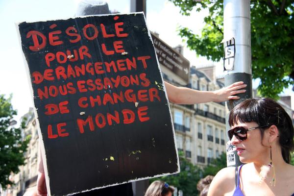 paris manifestation