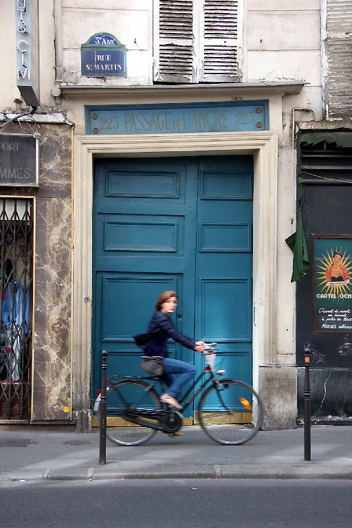 paris porte vélo