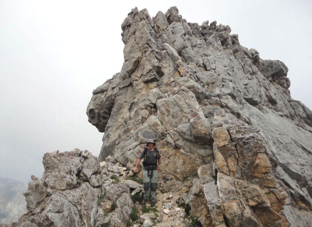 Entre el Pico Boru y el Pico Valdominguero
