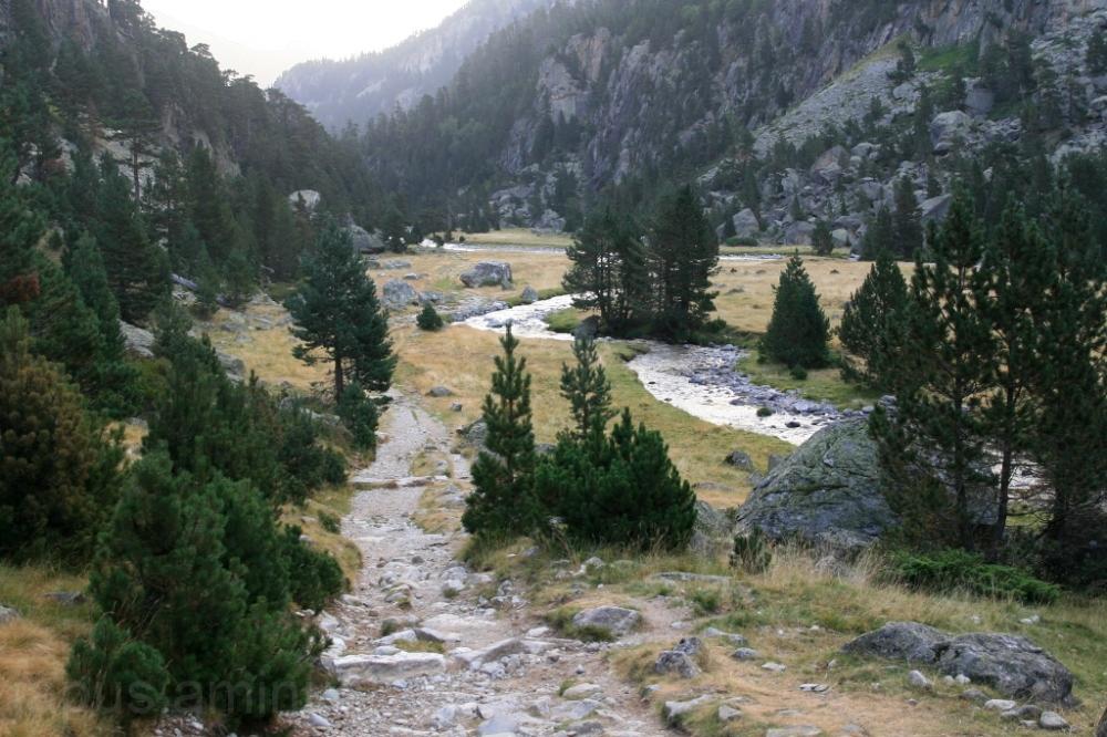 Por el valle de Marcadau