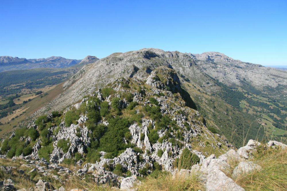 Desde la cima del Pico San Vicente