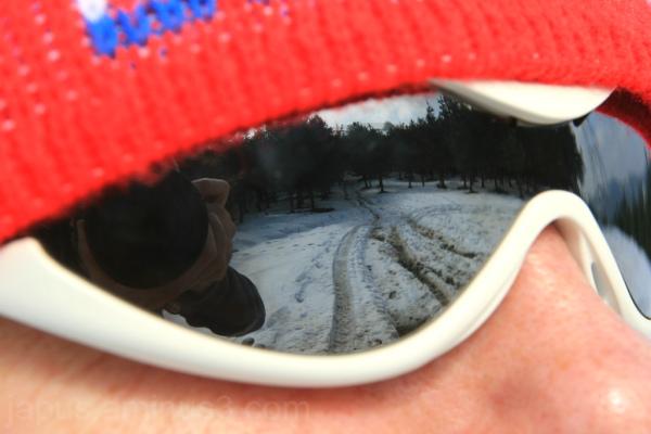 Reflejos en las gafas
