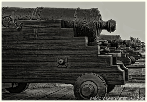 Man The Canons