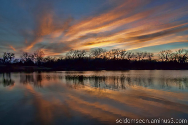South Lake Sundown