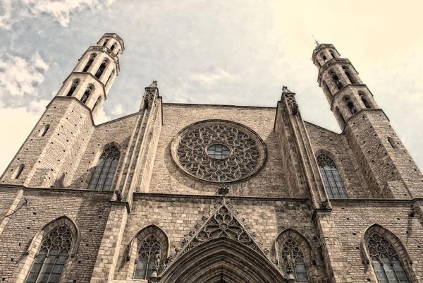 Catedral de Santa María del Mar. Barcelona