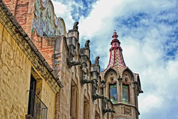 Gárgolas de la Iglesia de Santa María de Igualada
