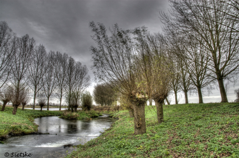 landschap in hdr