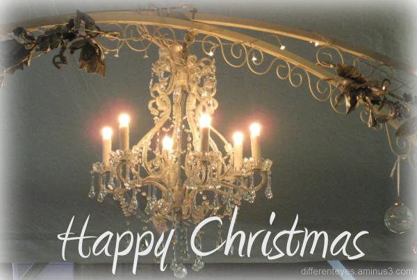 Christmas lights at Tyabb Antique Village
