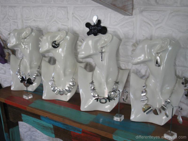 Jewellery at Gaga Gallery, Tootgarook