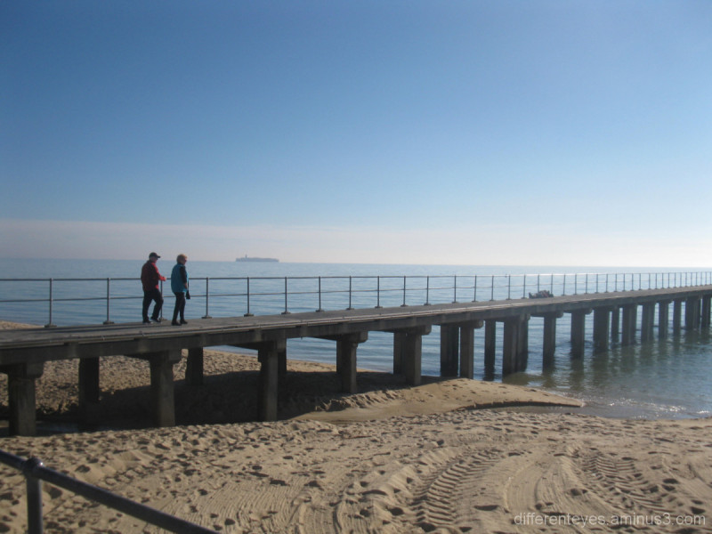 Dromana pier in early morning light
