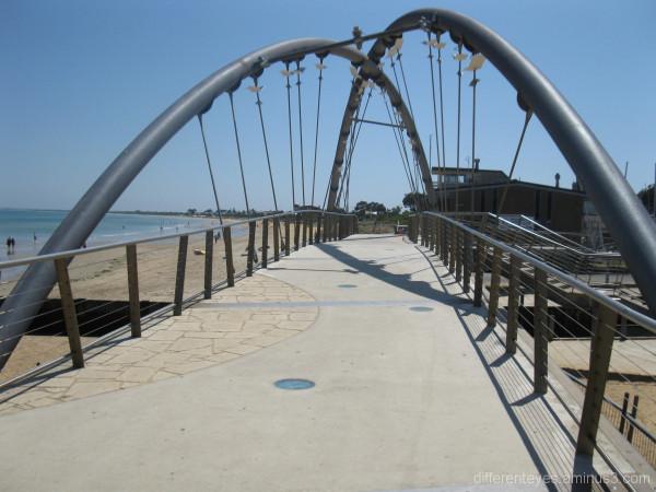 Bridge over mouth of Kananook Creek, Frankston