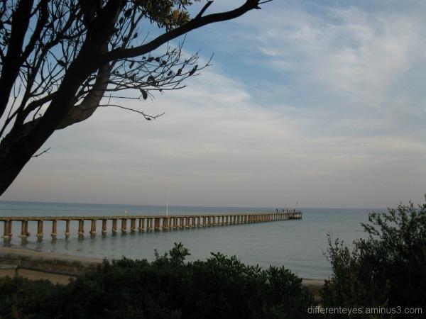 Dromana pier, Port Phillip Bay