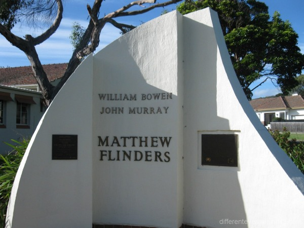 Matthew Flinders memorial in Dromana
