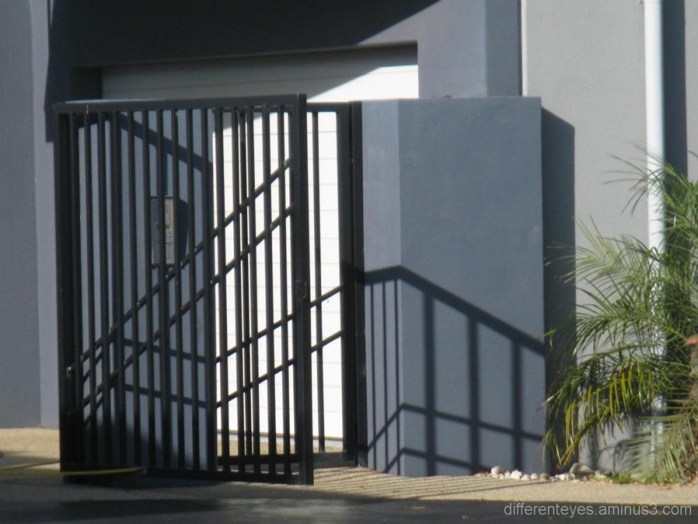 gate shadows