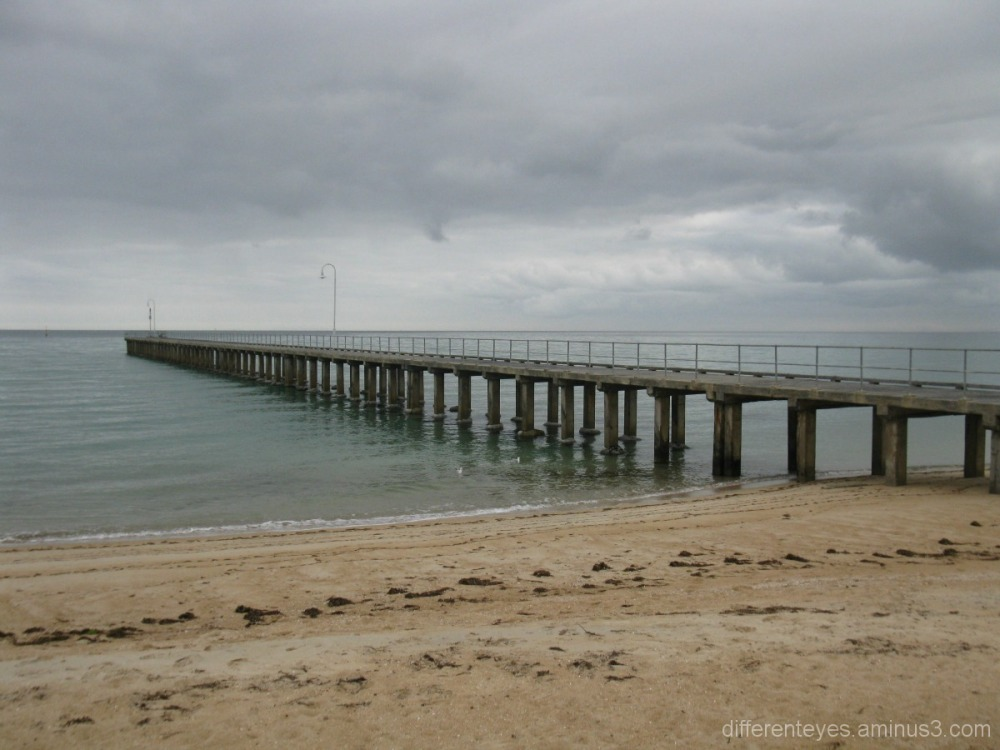 Dromana pier, Port Phillip Bay