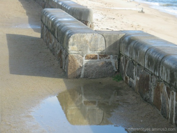 Reflection and shadows at Dromana beach