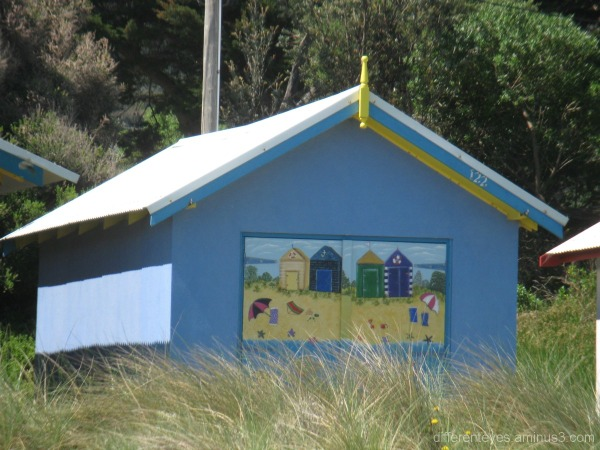 Dromana boat shed, Port Phillip Bay