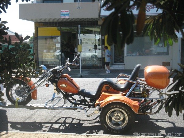 Unusual bike in Dromana