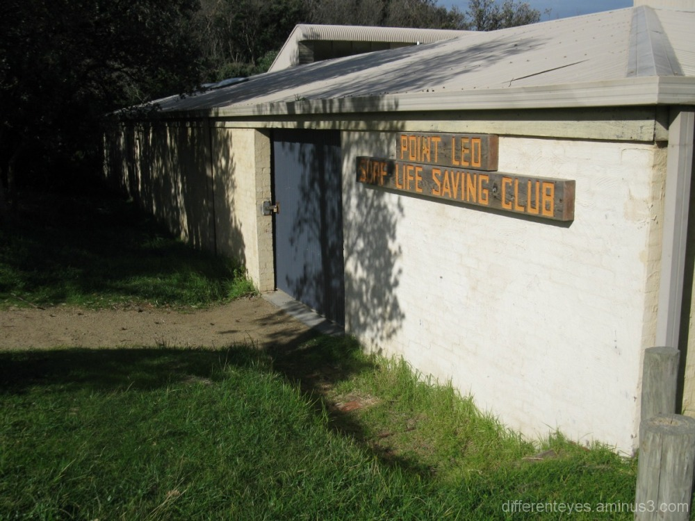 Surf Life Saving Club at Point Leo