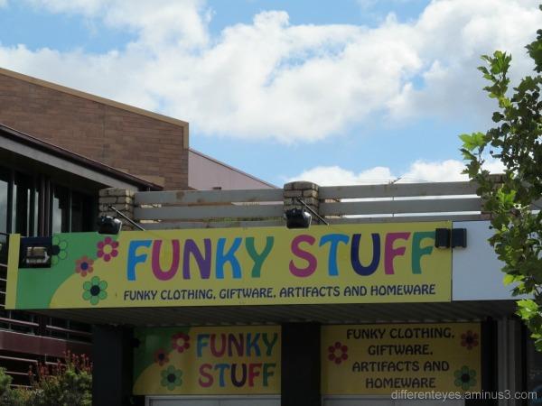Mornington main street shop sign