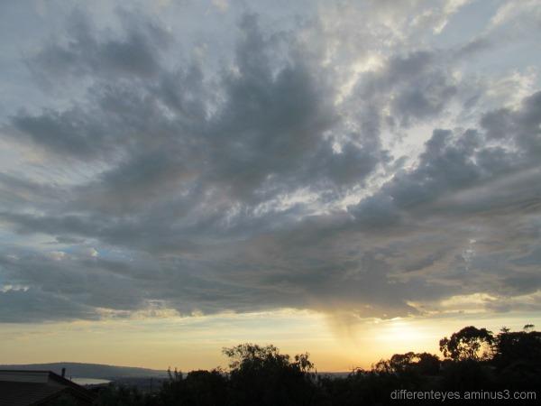 Autumn skies on the Mornington Peninsula
