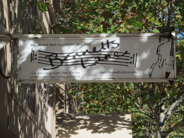 Melbourne's Bennett's Lane