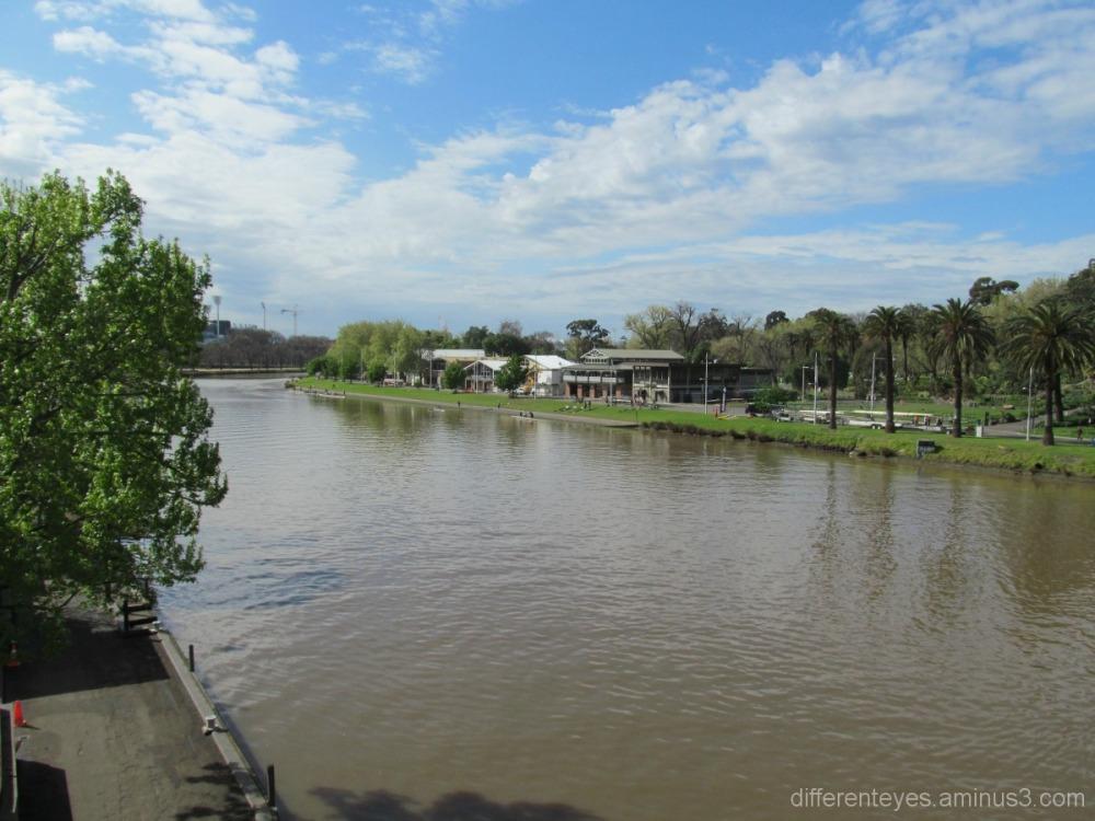 Melbourne, view, Yarra River