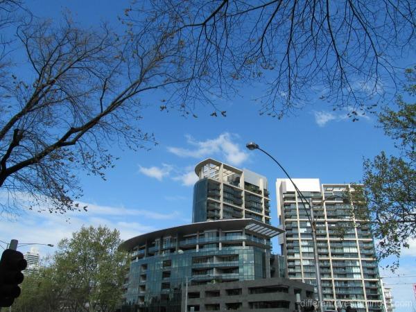 Melbourne view