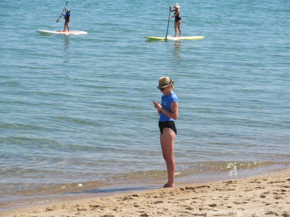 Activities at Dromana beach