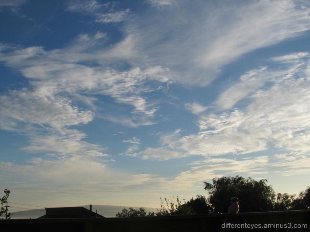 Dromana's autumn skies