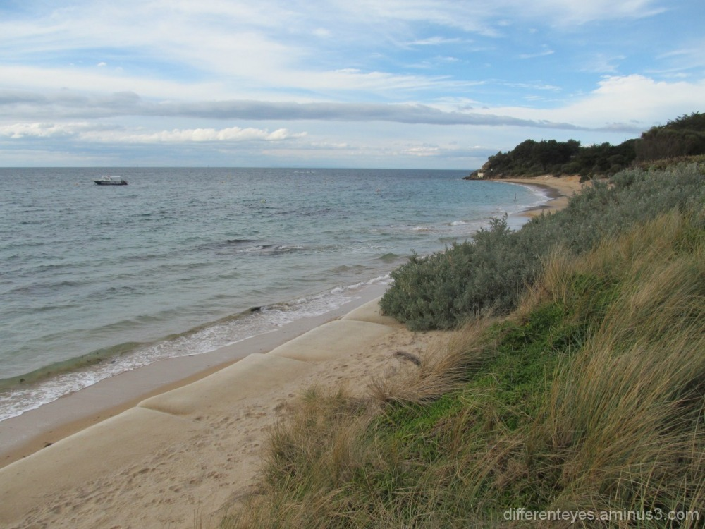 view of Portsea Beach