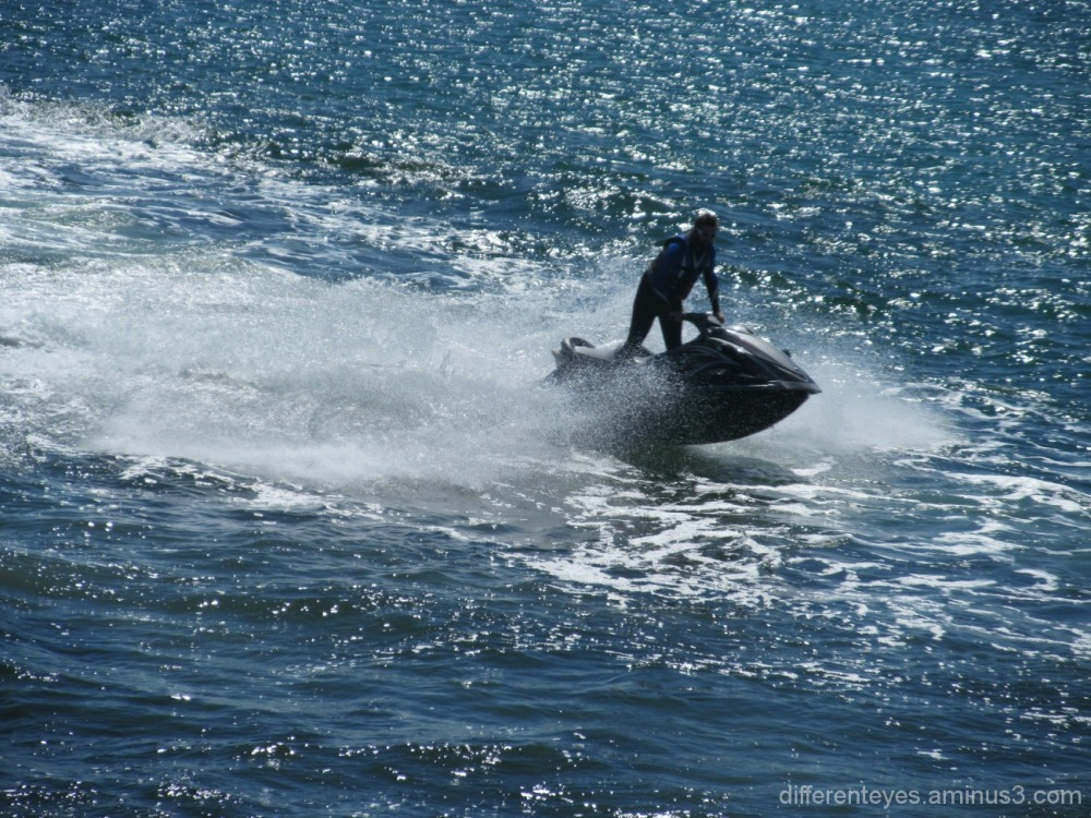 Port Phillip Bay jet skier