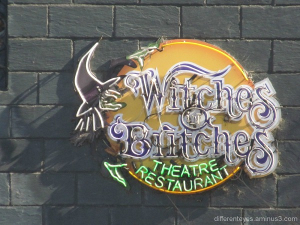 Witches in Britches sign in Melbourne