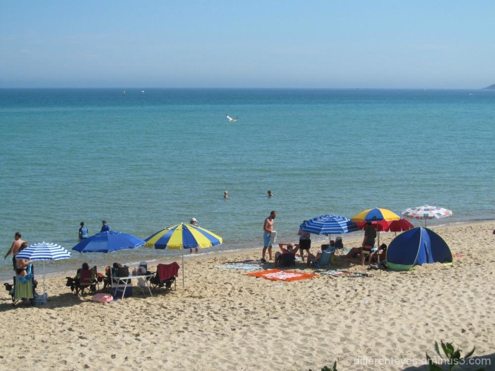 Domana beach view