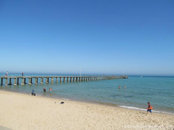 Dromana beach view