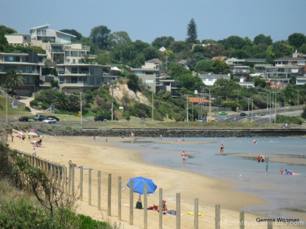 a view of Frankston beach