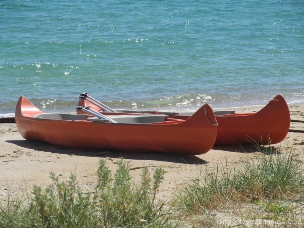 boats on Dromana beach