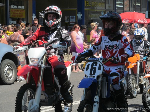 riders in 2015 Westernport Festival at Hastings