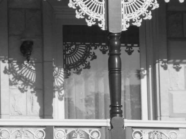 Rosebud building shadows