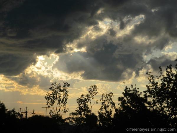 Dromana Hills threatening skies