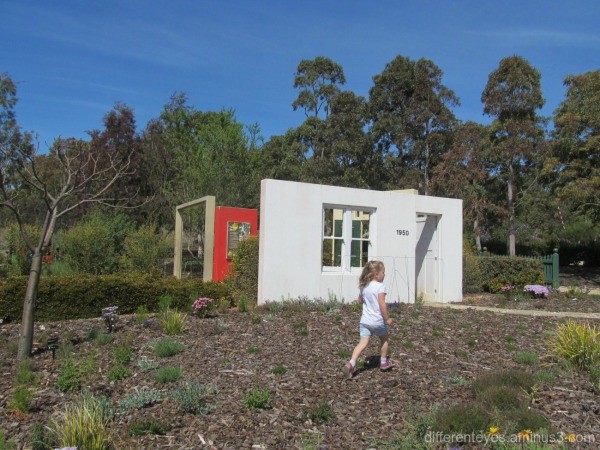 child's garden at Cranbourne Botanical Gardens