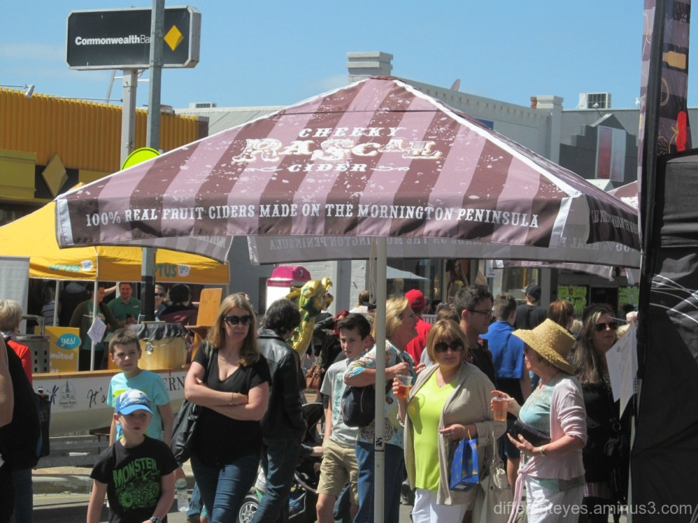 view of street at 2015 Mornington Spring Festival