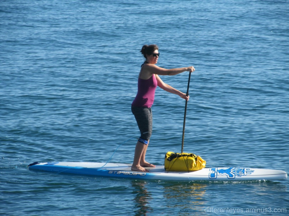 paddleboarder at Mornington