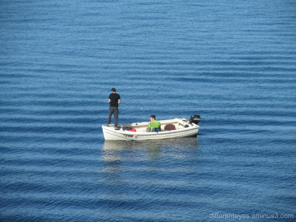 fishermen at Mornington