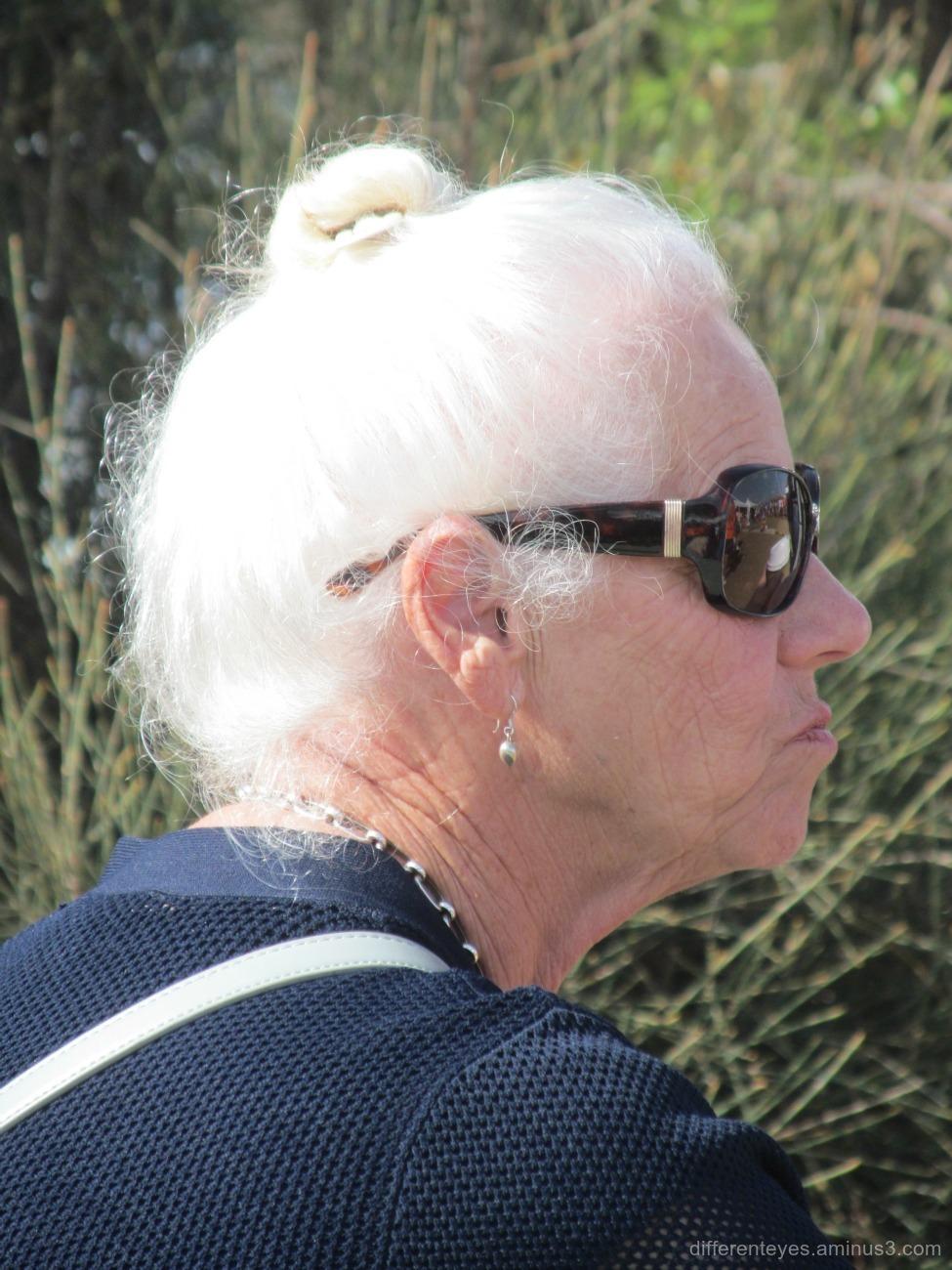 Australia Day 2016 woman at Dromana beach