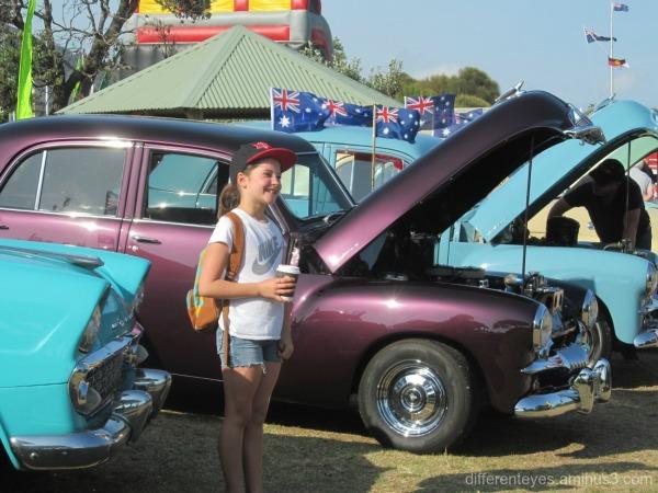 Australia Day 2016 child on the Dromana foreshore